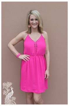 Ruffled Feathers Boutique - Too Pink For You Dress, $25.00 (http://www.ruffledfeathersboutique.com/too-pink-for-you/)