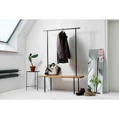 #garderobe #eiche von #weldco über www.stilherz.de