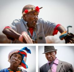 Some faces from the Shangaan festival in Zimbabwe