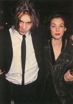 90s Winona Ryder and Johnny Depp