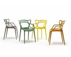Kartell Masters Chair Black by Philippe Starck. Buy online today at Bouf