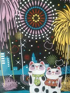 Maneki Neko tapestry hanging wall lucky cat by Morondanga on Etsy