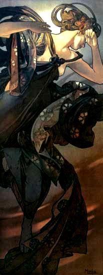 """Evening Star"" by Alphonse Mucha"
