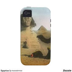Egyptian iPhone 4/4S Cases #Egypt #Egyptian #Africa #Pyramid #Desert #Camel #Mobile #Phone #Case #Cover #iPhone