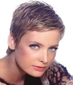 short hair cut for women over 50 for a round face | short boy hair cuts for women
