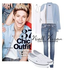"""Niall Horan - Glamour magazine"" by shannonstyles ❤ liked on Polyvore"