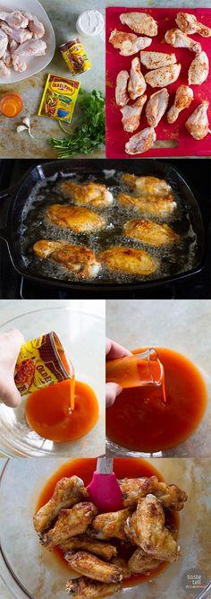 How to make Enchilada Wings