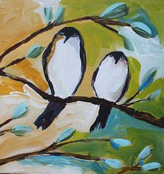 Love these birds by jenni horne