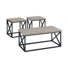 Orion Ash Occasional 3 Pack Tables | Occasional Tables | Discount Direct  Furniture And Mattress Gallery