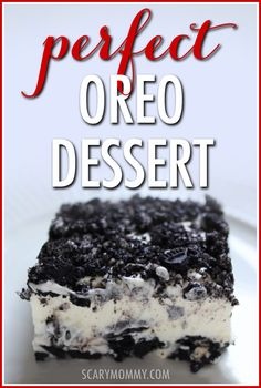 The Perfect Oreo Dessert recipe: rich and full of flavor, yet light and creamy. A favorite treat with everyone who's tried it, it's guaranteed to be a hit at your next pot luck, party or family dinner! Desserts The Easiest Oreo Dessert You Can Make Oreo Dessert Easy, Oreo Dessert Recipes, Oreo Pudding Dessert, Simple Dessert Recipes, Oreo Dirt Pudding, Dirt Dessert, Mini Desserts, Easy Potluck Desserts, Desserts With Oreos