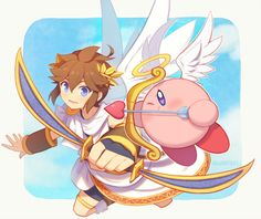Super Smash Bros Brawl, Super Mario Bros, Image Zelda, Kid Icarus Uprising, Love Fight, Nintendo Sega, Nintendo Characters, Chibi, Fanart