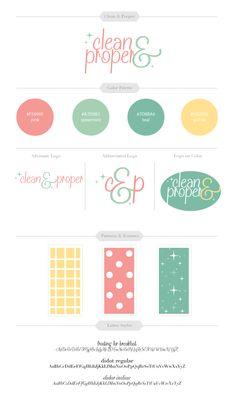 Clean & Proper Brand Identity
