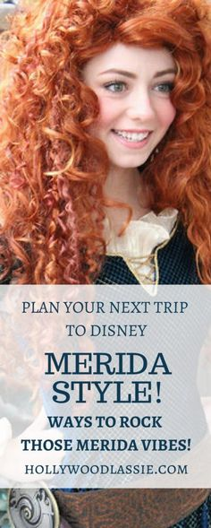 Disney Parks: Merida Style - Plan your next trip to Disney in celebration of this Disney Darling! Packing tips, outfit ideas, activities, and more!