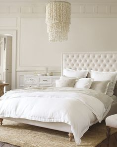 Serena and Lily Fulton_Linen bed Dominica rug Abaca rug interior decorating questions answered