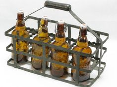 8 place bottle carrier french bottle carrier by LittleFrenchOwl