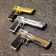 American magnum research desert eagle pistols اسلحه های کمری دزرت ایگل ساخت امریکا # Weapons Guns, Guns And Ammo, Revolver, Airsoft, Arsenal, Magnum Research, Guns Dont Kill People, Desert Eagle, Military Guns