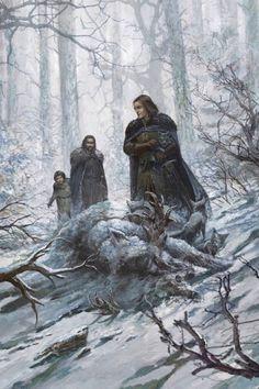 EL CABALLERO DEL ÁRBOL SONRIENTE: Estas son todas las ilustraciones de la edición 20 Aniversario de A Game of Thrones