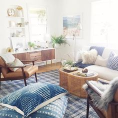 """3,134 Likes, 7 Comments - 🌿The Jungalow™ (@thejungalow) on Instagram: """"Oh hey there @bohobeachbungalow -- we are digging your beachy boho #jungalowstyle ! 🌿 🌊"""""""