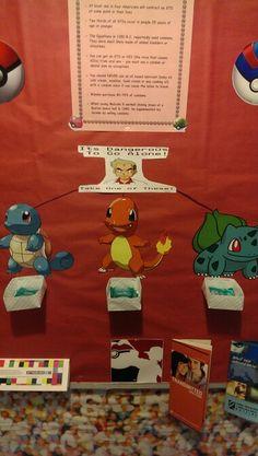Pokemon RA bulletin board