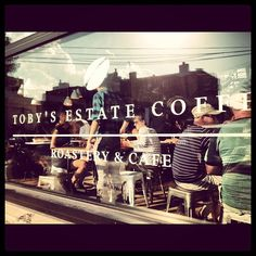 Toby's Estate Coffee in Brooklyn, NY
