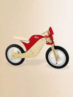 push bike - Sevi - wooden