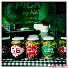 Vampire Slayers Pickles from Pickled By Hattie