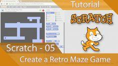 Scratch Tutorial 05 - Create a Retro Maze Game