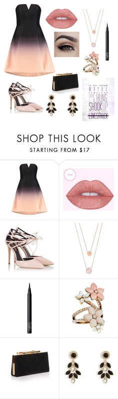 """Imagine"" by beck-bows-and-ribbons ❤ liked on Polyvore featuring Halston Heritage, Fratelli Karida, Michael Kors, NARS Cosmetics, Accessorize, Jimmy Choo and Vera Bradley"