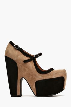 Stunner Platform - Taupe Suede in What's New Shoes at Nasty Gal