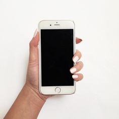 White & Silver Mandala Flower Phone Case