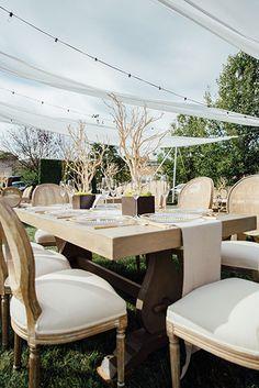 Elegance Naturelle Table Design! | Planning: Leilani Weddings