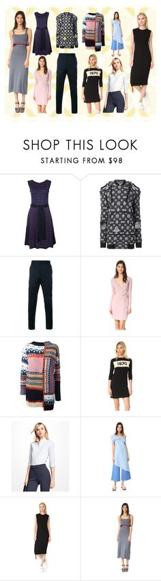 """Itz My Style"" by justinallison ❤ liked on Polyvore featuring Carolina Herrera, KTZ, Gucci, Diane Von Furstenberg, Alexander McQueen, Bella Freud, Brooks Brothers, Baja East, Public School and Milly"