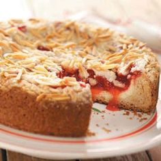 Cherry Cream Cheese Coffee Cake recipe from Taste of Home