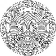 Mandalas for EXPERTS : 52 free online coloring books & printables You can colour these online or print them. Disney Coloring Pages, Animal Coloring Pages, Free Printable Coloring Pages, Coloring Book Pages, Geometric Coloring Pages, Mandala Coloring Pages, Image Mandala, Coloring Pages For Teenagers, Free Online Coloring