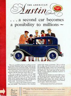 1930 American Austin Ad, Pg. 3
