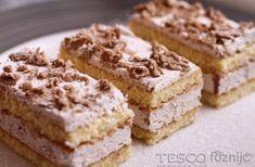 Gesztenyés szelet   Recept   TESCO - Főzni jó