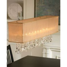 rectangular+chandelier | My Aesthetica: Mimi Rectangular Chandelier