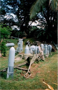 Rabaul War Museum. Papua New Guinea.