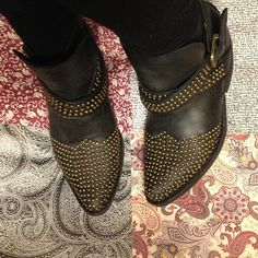 I love these studded free people boots! 3