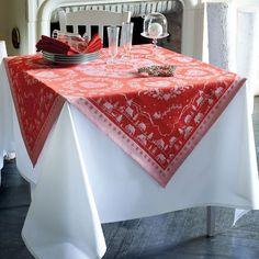 Weihnachtliche Tischwäsche Nuit de Noël