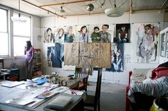 Zina's studio sits in a massive, somewhat dilapidated building on an industrial tract of land along San Francisco's central waterfront. The Noonan Building, which still belongs to the Port of San Francisco, now houses artist studios ...
