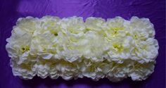 Cream Hydrangea Artificial Flower Hydrangea Mat Wedding Wall Decoration by sophieliu2 on Etsy