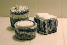 Basket Trio pattern