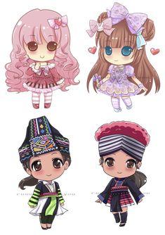 Chibi 106 41 Awesome Chibi Missions by Runawaywithyou On Deviantart Chibi Kawaii, Cute Chibi, Kawaii Art, Anime Chibi, Kawaii Anime, Anime Art, Manga, Chibi Girl, Cocoppa Play