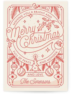 christmas poster design Merry Little Lines Holiday Petite Cards Noel Christmas, Christmas Design, Vintage Christmas, Christmas Fonts, Christmas Doodles, Merry Christmas Typography, Christmas Posters, Merry Christmas Drawing, Merry Christmas Card