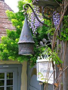 An enchanting entrance in Carmel, CA. Photo taken by Linda Hartong Cottage Porch, Cozy Cottage, Cottage Style, Cottage Exterior, Fairytale Cottage, Storybook Cottage, Rustic Gardens, Outdoor Gardens, Cottage Gardens