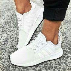 Fresh kicks all day,everyday 👟🙌🏻 Don't think twice and add the adidas O. Fresh kicks all day,everyday 👟🙌🏻 Don't think twice and add the adidas Originals X_PLR in Vintage White to your collection now 😍 Add to cart…. White Addidas Shoes, White Tennis Shoes, Tennis Shoes Outfit, Women's Shoes, Me Too Shoes, Shoe Boots, Shoes Sneakers, Womens White Sneakers, Shoes Style