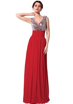 Belle House Red V Neck Long Prom Dress Formal Gown HSD125RD Belle House http://www.amazon.com/dp/B016NS57GE/ref=cm_sw_r_pi_dp_kYbDwb1AG25ZE