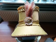 1811 inspired Regency bonnet in silk and lined with satin cotton. Designed and created by Jeannette de Meyer (Miss Galindo)