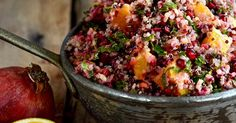 Cranberry Orange Quinoa Salad-1 cup quinoa 2 cup water 2 large leaves of kale 2 cup cranberries, fresh 2 TBS extra virgin olive oil 1 tsp honey 2 TBS orange zest, grated 6 small oranges 1/4 cup mixed nuts